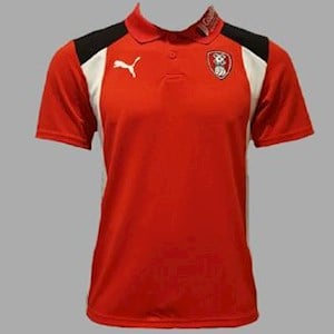 Training Wear Red Polo