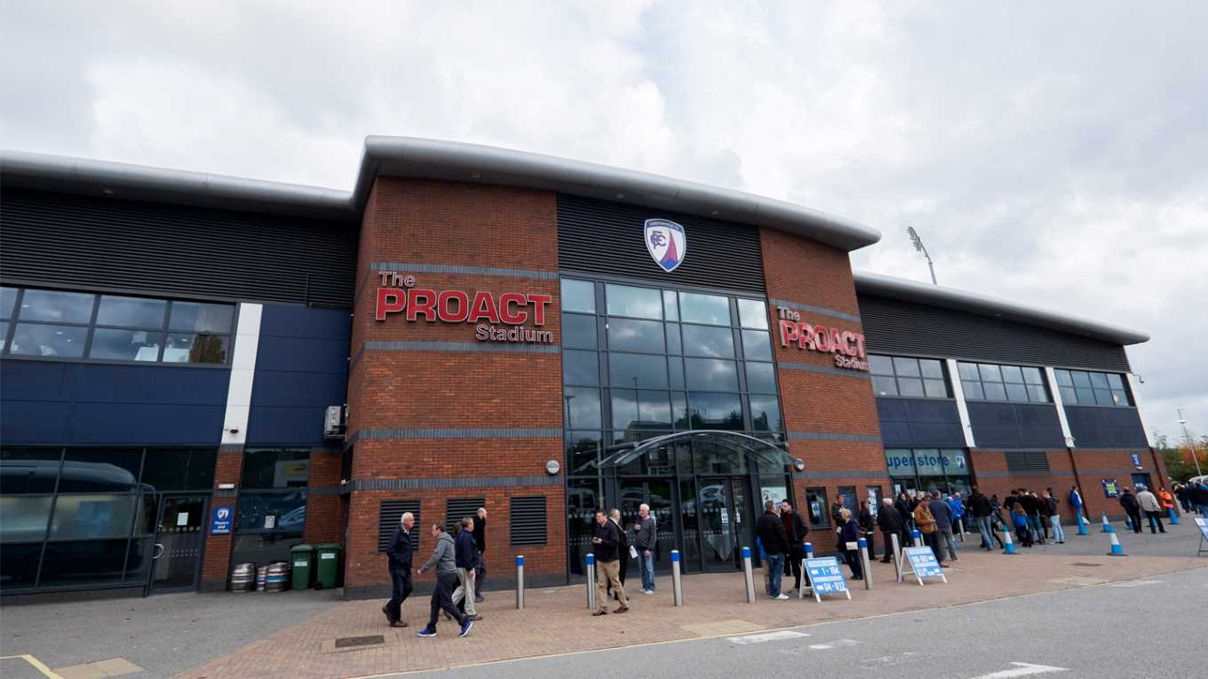 TICKETS | Pay on the day available against Chesterfield - News